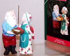 1992 New HALLMARK Christmas Ornament MR & MRS CLAUS GIFT EXCHANGE QX4294 7th NIB