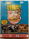 Topps 1991 Desert Storm -Series I:Coalition For Peace Box of Unopened Cards MIB