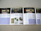 Accuphase DP-80L CD Compact Disc player / DC-81L D/A converter brochure
