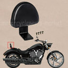 For Victory High-Ball Vegas Kingpin Deluxe Rear Backrest Seat Sissy Bar Pad New