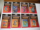 1985 HASBRO TRANSFORMERS (8) BLISTER CARD PACKS OF TRADING CARDS (GROUP B)
