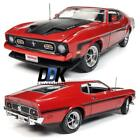 AMM1150 1971 Ford Mustang Mach 1 Hemmings Muscle Machines Red Diecast Car 118