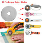 20 Pcs 45mm Rotary Cutter Refill Blades DIY Sewing Quilting Cutting Tools