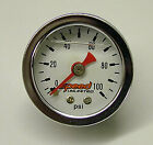 Speed 103l Fuel Pressure Gauge 1.5 0-100 Psi. Liquid Filled 18 Npt