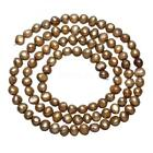 Natural Cultured Potato Freshwater Pearl Beads 4-5mm With Hole Hot Jeweelry Gift