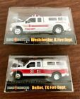Racing Champions Fire Rescue Dallas  Westchester Ford Diecast Truck Pickup 164