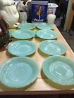 Vintage Fire King Anchor Hocking Jadeite 2 Jane Ray 6 Alice Saucers