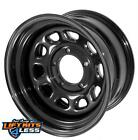 Rugged Ridge 1550002 Black Steel Wheel for 84 06 Cherokee XJ Comanche TJ YJ LJ