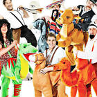 ADULT STEP IN RIDING RIDE ON ANIMAL FUNNY FANCY DRESS COSTUMES PANTO NATIVITY