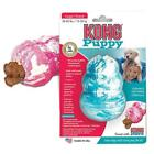 KONG PUPPY Durable Rubber Chew and Treat Toy Blue Small Size