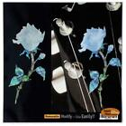 Inlay Sticker Decal Guitar Headstock In Abalone Theme Single Rose