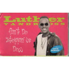 LUTHER VANDROSS Ain't No Stoppin Us CASSETTE Europe Epic 2 Track 1995 Radio Mix