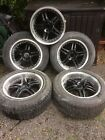 18 deep dish Alloys and tyres