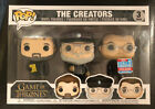 Game of Thrones FUNKO POP The Creators 3pack 2018 Fall Convention Exclusive NYCC