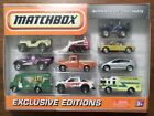 Matchbox Ultra Rare Exclusive Editions 10 Vehicle Set New  Factory Sealed