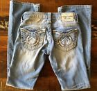 Big Star Vintage Collection Liv Boot Cut Thick Stitch Factory Distressed 25x31