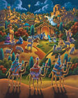 Jigsaw Puzzle Nativity 100 Pc By Dowdle Folk Art Shipping is Free