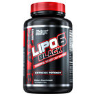 Nutrex Research Lipo-6 Black Powerful Fat Loss Formula Weight Loss Pills 120 ct.