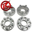 2 Wheel Spacers Silver Kit 05 10 Jeep Grand Cherokee WK HD Hubcentric w Lip