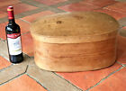 ANTIQUE BENTWOOD BOX. DOMED LID. C19TH CENTURY. LARGE SIZE. SUPERB PATINA