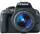 Canon EOS Rebel SL1 EOS 100D 180 MP Digital SLR Camera Black Kit w EF S IS