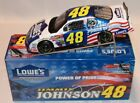 New Jimmie Johnson 2002 Lowes Power Of Pride 1 24 Scale Diecast Car Action
