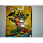 Hot Wheels 2013 DC Comics Robin Green Red Yellow Mattel Shipping Included