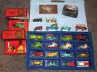 VINTAGE MATCHBOX LESNEY MODEL CARS OF YESTERYEAR LOT OF 26 + CASE