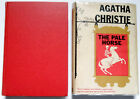 Agatha Christie THE PALE HORSE 1962 first US edition in dj