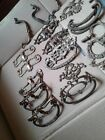 Antique drawer pull handles and bails lot misc.