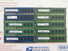 Lot of 10 pieces PC3 10600 PC3 12800 4GB 240 Pin DDR3 SDRAM Desktop Memory