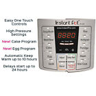 Instant Pot LUX60 V3 6 Qt 6-in-1 Multi-Use Programmable Pressure Cooker, Slow Co