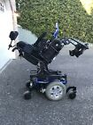 Quantum Q6 Edge Full sized Electric Power Base Chair W Smaller Seat Attached