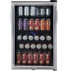 Beverage Refrigerators Haier Can Locking Cooler Center Stainless Steel Shelves