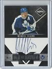 2011-12 Panini Limited WENDEL CLARK Men of Mayhem Autograph Serial #146 of 199