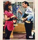 KATEY SAGAL & ED O'NEILL Signed MARRIED WITH CHILDREN 8x10 Photo PSA DNA COA