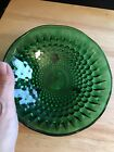 Vintage Emerald Green Glass Candy Dish