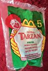 VTG 1999 McDonalds Happy Meal Dianey Tarzan 5 PORTER in ORIGINAL BAG