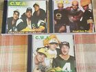 C.W.A. CHEESEHEADS WITH ATTITUDE 3 CD LOT FREE SHIPPING