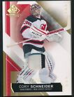 15-16 SP Game Used Gold Spectrum Materials #40 Cory Schneider 33 49