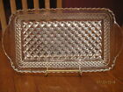 Vintage Anchor Hocking Wexford Glass Rectangular Cranberry Sauce ~ Relish Tray