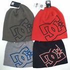 DC Shoes Men's Spinner Beanie *Dk Grey/Lt Grey DC Logo *1 Size *New