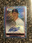 2012 Bowman Baseball Blue Wave Refractor Autographs Are Red-Hot 48
