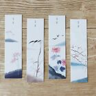 30pcs Chinese Painting Paper Bookmarks Cartoon Animals Cards School Stationery