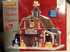 LEMAX SIGNATURE LIGHTED CHRISTMAS DECORATED VILLAGE COUNTRY BARN GIFT SHOP