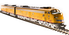 Broadway Limited 5439 HO EMD E9 AB Set UP 946A 946B Yellow  Gray DCC Sound