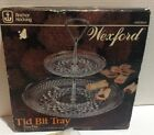 Vintage Wexford Two Tier Tid Bit Tray Tidbit New In Box