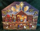 NIB Byers Choice Wooden Nativity Advent Calendar AC05