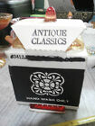 Vtg New Old Stock Jeanette Glass Amberina Candy Dish Wedding Box in Cardboard