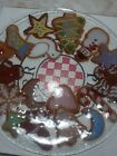 Peggy karr glass plates which is that the Christmas cookie plate